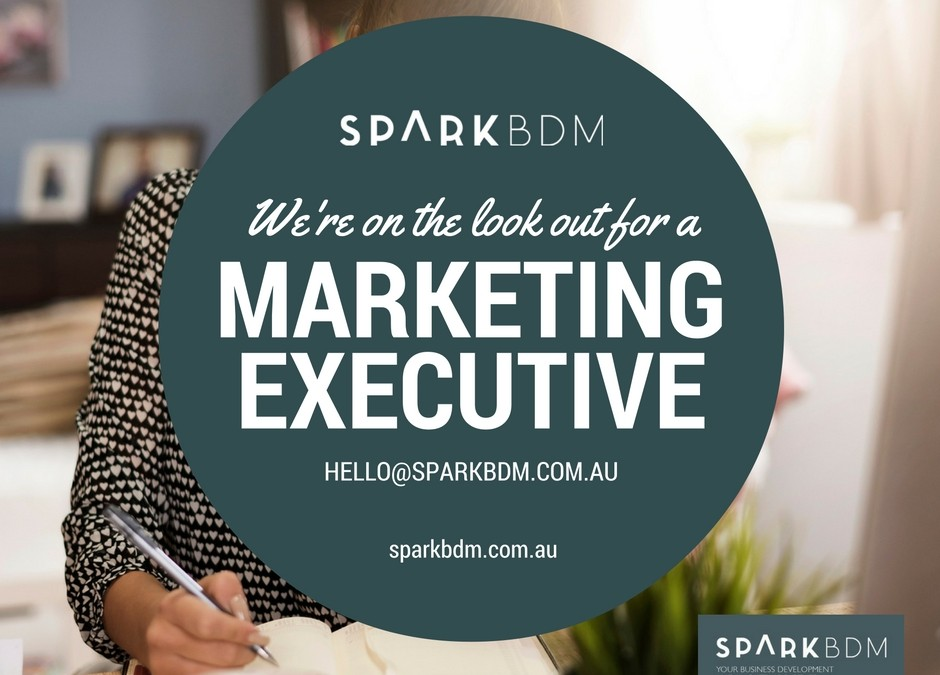 Marketing Executive Position Available